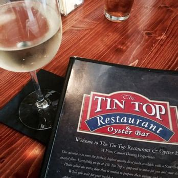 the tin top restaurant oyster bar brittany l s reviews fairhope yelp