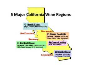 wine regions california map wine travel stories evolution of california s world wine