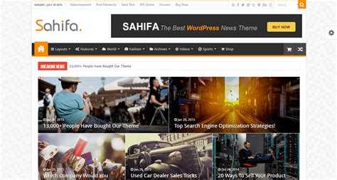 sahifa theme test 35 best amazon affiliate wordpress themes 2017 softwarefindr