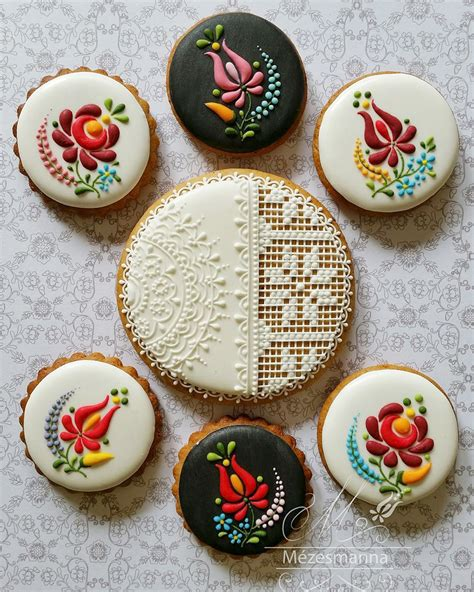 cookie designs hungarian chef turns ordinary cookies into stunning