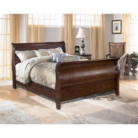 ashley furniture sleigh bed ashley sleigh bed images frompo 1