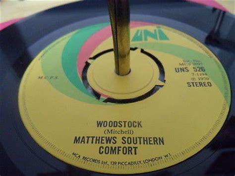 woodstock southern comfort roots vinyl guide