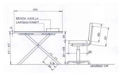 Meja Kantor Standar class of 08 ab pengendalian ergonomik meja dan