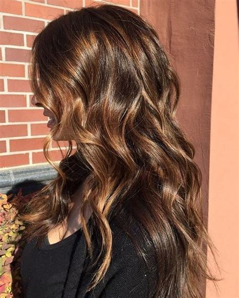 50 savory looks with caramel highlights latest 50 alluring brown hairstyles with caramel highlights 2016