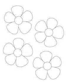 flower template 25 best ideas about flower template on paper