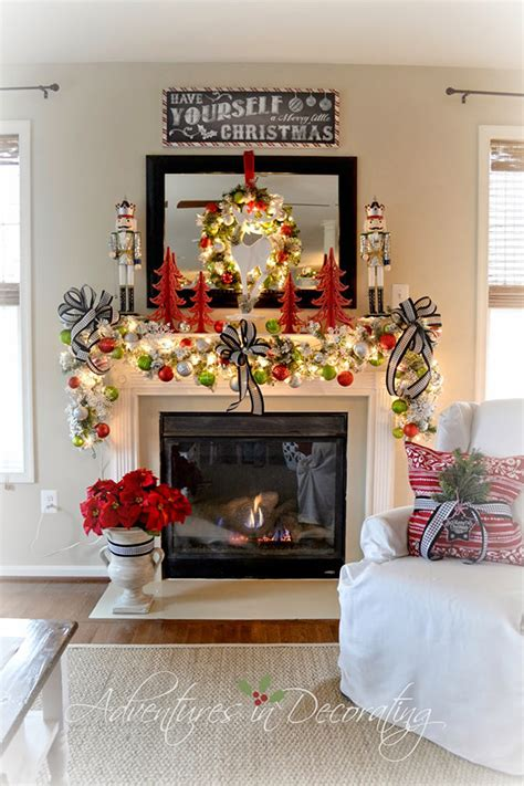 6 weeks of holiday diy week 5 holiday mantel ideas