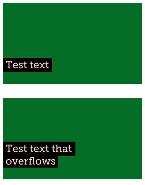 css span background color padding problems stack