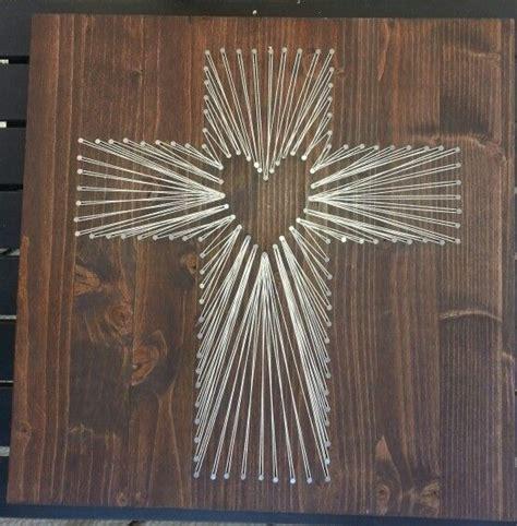 Cross String - string cross made by me