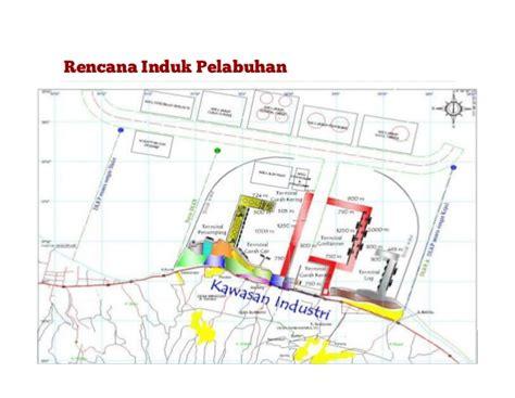 layout pelabuhan peti kemas selamat datang di pelabuhan tanjung bonang rembang