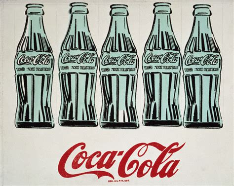 Coke Is The Real Thing For Andy by Andy Warhol See History For