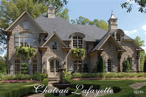 french country homes chateau lafayette french country house plan