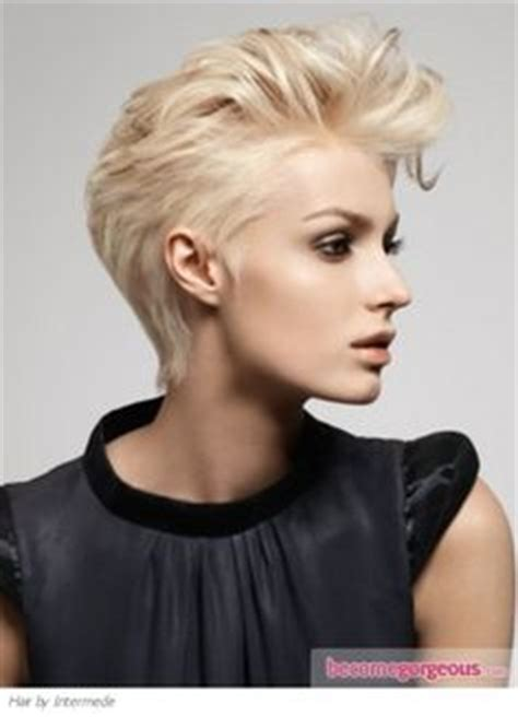 hairstyles that are pushed up in back 1000 images about cool short hair on pinterest short