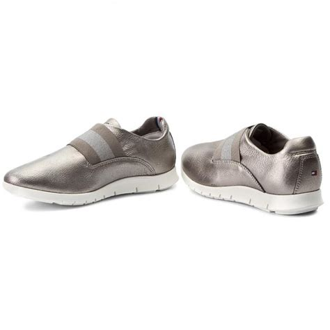 Sneakers Shoes E 042 sneakers hilfiger mico 5a1 fw0fw01416 silver