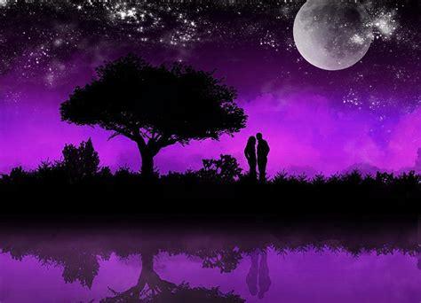 imagenes de paisajes kawaii dibujos de paisajes de noche con colores grisaceos