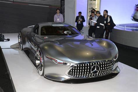 Mercedes Benz AMG Vision Gran Turismo Concept: Live Photos