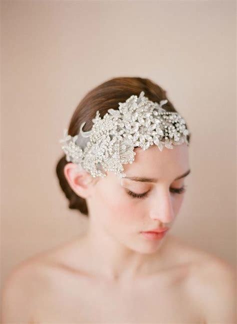 hairstyles with double headband 87 best bridal headgear images on pinterest wedding hair