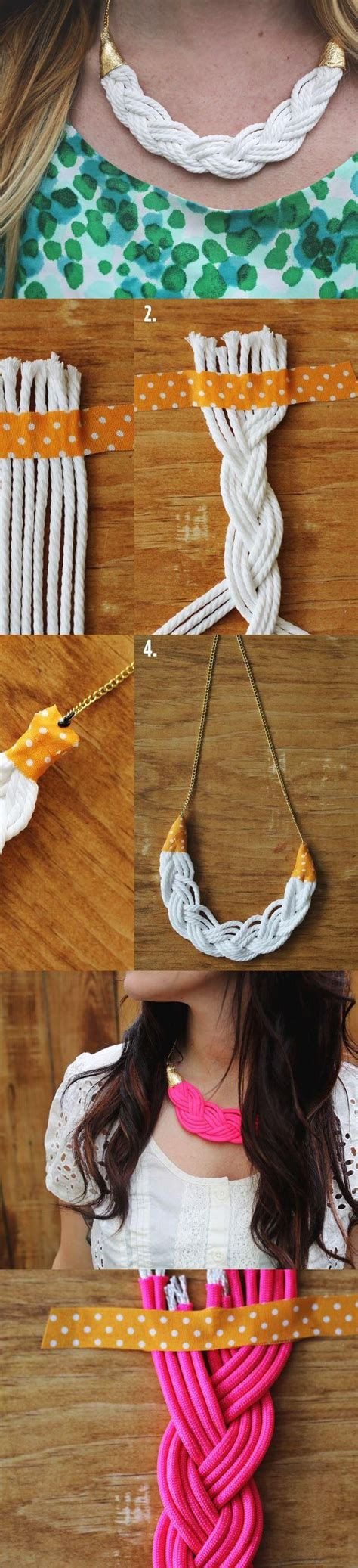 Braid Craft - braid necklace diy jewelry crafts