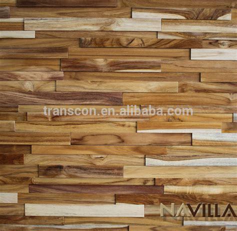 Panel Kayu Untuk Dinding Gaya Baru 3d Dekoratif Kayu Jati Dinding Panel Untuk