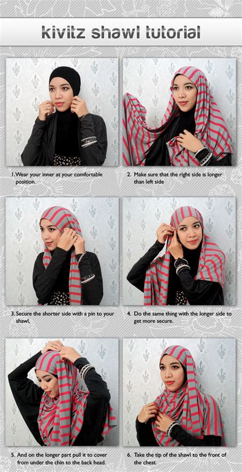 tutorial pashmina arab 17 best images about hijab scarf how to on pinterest