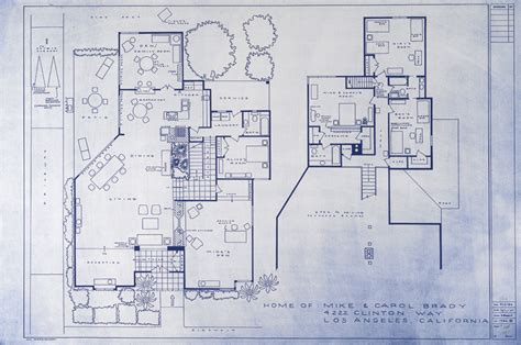 brady bunch house floor plan 187 tv blueprints the nesting game
