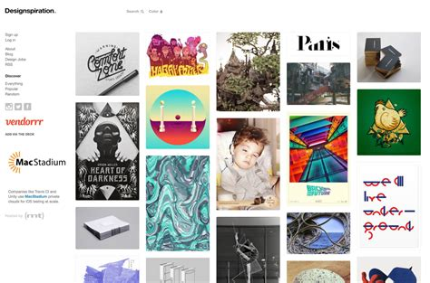 designspiration search 6 tools that will help you develop a unified visual brand