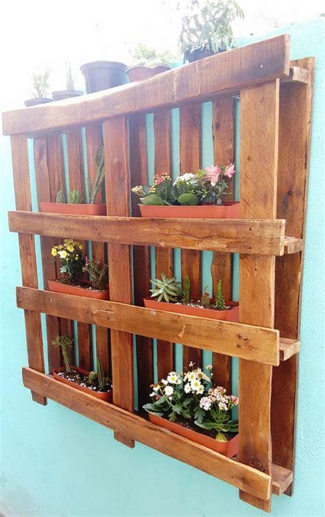 pallet garden wall hanging garden out of wooden pallet pallet ideas