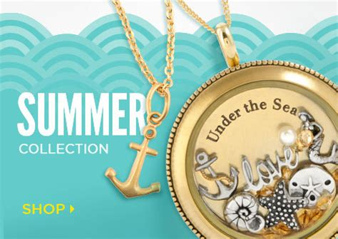 Origami Owl Summer - custom jewelry for summer fashion