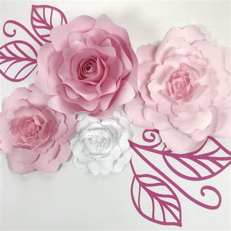 Backdrop Paper Flower Hiasan Jendela Ready Stock paperflora paper flower walls backdrops and home decor