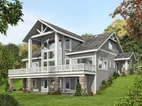 Small House Plans Mountain View Mountain House Plan With Dramatic Window Wall 35516gh