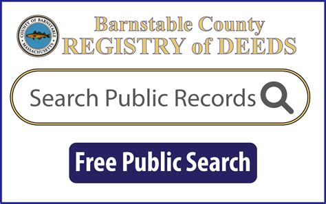 Deeds Records Barnstable Indexing Standards Land Court Guidelines Barnstable County Registry Of