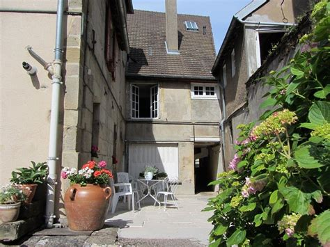 Yard House City Center by House With Yard In The Historical City Center Of Autun