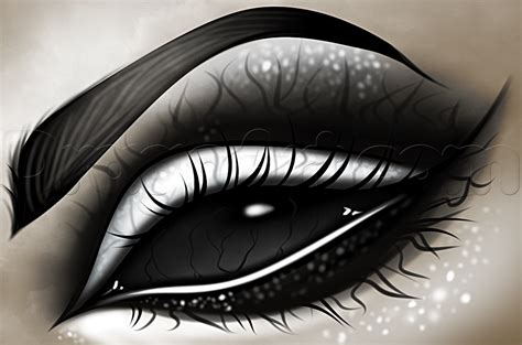 how to design an eye how to draw a eye step by step
