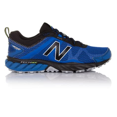 new balance sport shoe new balance mt610v5 mens blue trail running sports shoes