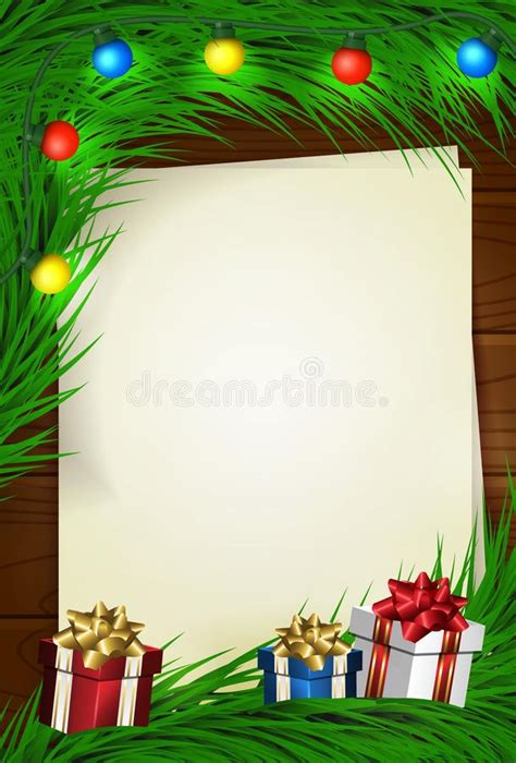 merry christmas  card  empty space stock vector illustration  space december