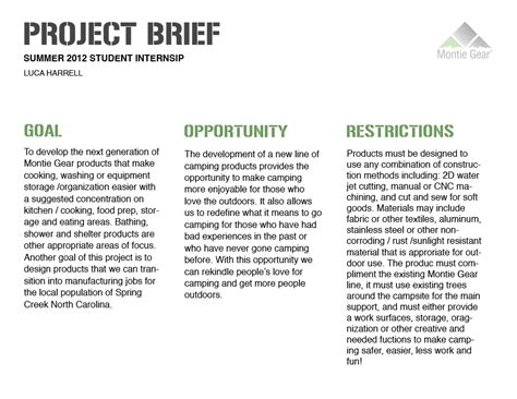 project brief template word project brief research exles the abandoned project