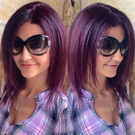 5vv hair color goldwell violet 5vv hairart violet hair