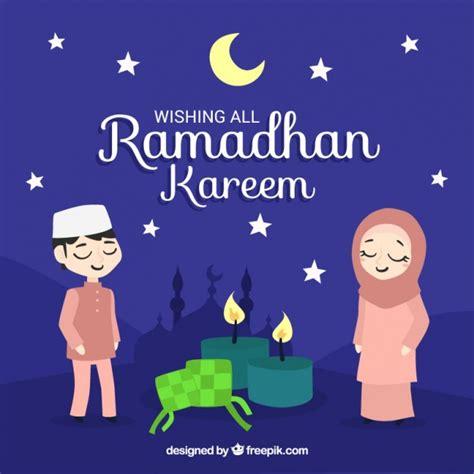 cartoon ramadan wallpaper muslim vectors photos and psd files free download