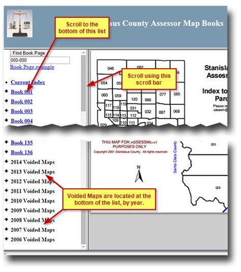 Stanislaus County Property Tax Records Voided Maps Assessor S Office Stanislaus County