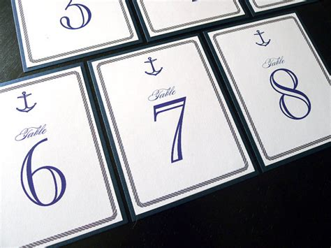 nautical table numbers nautical wedding table numbers preppy wedding style