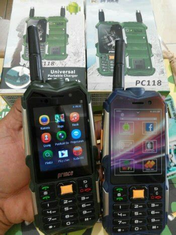Jaket Power Mo jual prince pc118 pc 118 hp android unik murah bisa power bank model outdoor di lapak king