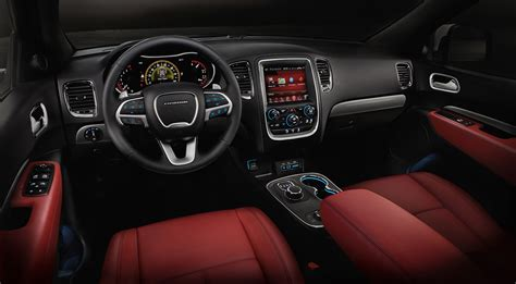 2015 Dodge Durango Interior by 2015 Dodge Durango R T Adds Nappa Leather 187 Autoguide News