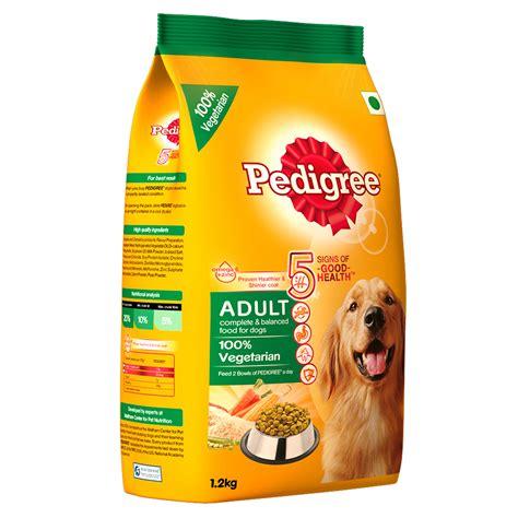 Food Pedigree 1 5 Kg 1 pedigree food 100 vegetarian 1 2 kg dogspot pet supply store