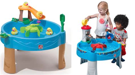 step2 duck pond water table kohls step2 paw patrol or duck frog pond water tables as low