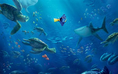 wallpaper finding dory movies