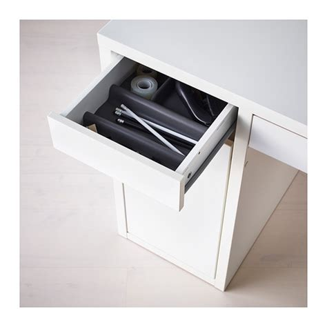 micke desk white ikea micke desk drawer stops prevent the drawers from being pulled out far