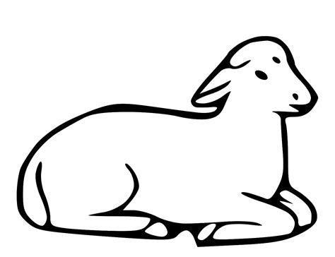 Passover Lamb Black And White Clipart Lamb Black And White Clipart