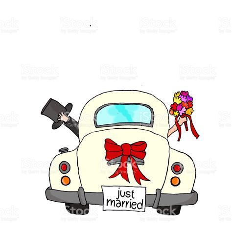 Wedding Clipart Just Married by Just Married Clipart Collection
