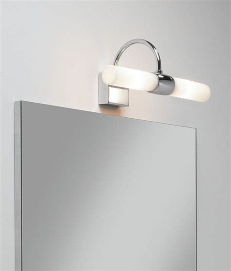 Bathroom Wall Light Polished Chrome Bathroom Lights Above Mirror