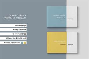 portfolio design template graphic design portfolio template brochure templates