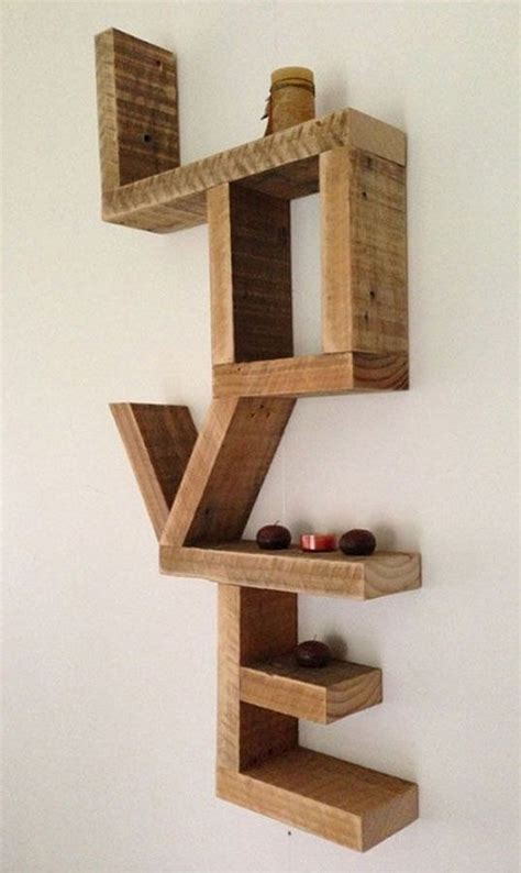make all from wood 10 diy amazing shelves recycled things